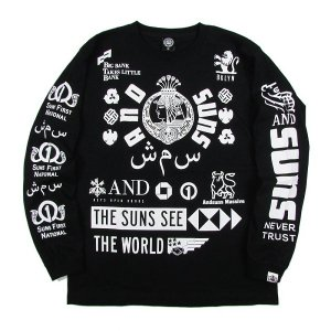 【ANDSUNS】BIG BANK TEE<img class='new_mark_img2' src='//img.shop-pro.jp/img/new/icons5.gif' style='border:none;display:inline;margin:0px;padding:0px;width:auto;' />