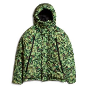 "【APPLEBUM】""PIXEL"" INNERCOTTON HOOD JACKET"