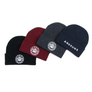 【ANDSUNS】MAIN LOGO BEANIE<img class='new_mark_img2' src='//img.shop-pro.jp/img/new/icons5.gif' style='border:none;display:inline;margin:0px;padding:0px;width:auto;' />