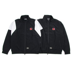 "【DUPPIES】NYLON TRACK JACKET ""FLAG OF PROVIDENCE"" / LAST BLACK M<img class='new_mark_img2' src='//img.shop-pro.jp/img/new/icons5.gif' style='border:none;display:inline;margin:0px;padding:0px;width:auto;' />"