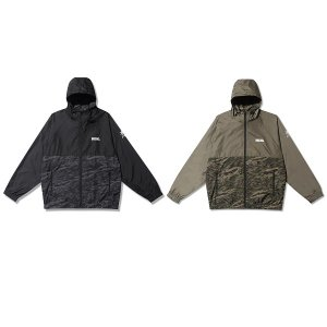 【Back Channel】NYLON HOODED JACKET