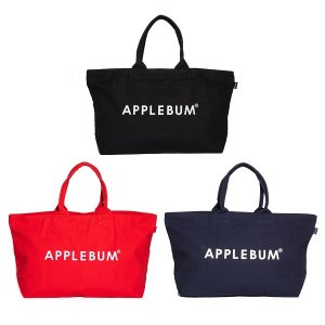 【APPLEBUM】LOGO CANVAS ZIP TOTEBAG<img class='new_mark_img2' src='//img.shop-pro.jp/img/new/icons5.gif' style='border:none;display:inline;margin:0px;padding:0px;width:auto;' />