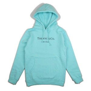"【68&BROTHERS】HOOD SWEAT ""THE NYC & Co."" (AQUA)<img class='new_mark_img2' src='//img.shop-pro.jp/img/new/icons56.gif' style='border:none;display:inline;margin:0px;padding:0px;width:auto;' />"
