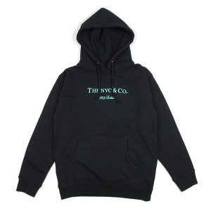 "【68&BROTHERS】HOOD SWEAT ""THE NYC & Co."" (BLACK)"