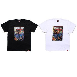 【MURAL】SMALL AXE T-SHIRT / LAST BLACK M