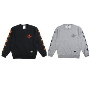 "【DUPPIES】CREWNECK SWEAT ""2 WHEELER"""