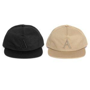 【APPLEBUM】A LOGO FLAT 5 PANEL CAP