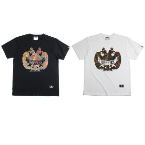 "【DUPPIES】DUPPIES×JUSTICE ""SR 2 FACE  S/S TEE SHIRTS""<img class='new_mark_img2' src='//img.shop-pro.jp/img/new/icons5.gif' style='border:none;display:inline;margin:0px;padding:0px;width:auto;' />"