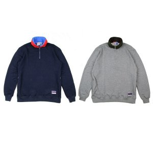 【68&BROTHERS】HALF ZIP SWEAT W/HOOD<img class='new_mark_img2' src='//img.shop-pro.jp/img/new/icons5.gif' style='border:none;display:inline;margin:0px;padding:0px;width:auto;' />