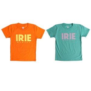 【IRIE by irielife】IRIE MULTI LOGO KIDS TEE / KIDS,BABY / LAST ORANGE 110