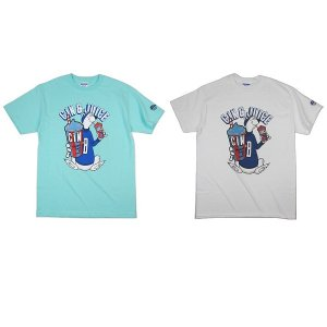 "【68&BROTHERS】DOUBLE BROS. PRINT TEE ""GIN & JIUCE"" / LAST WHITE M"