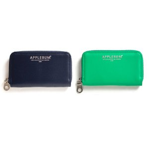 【APPLEBUM】LEATHER COIN CASE / LAST NAVY