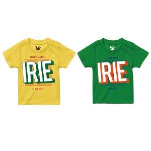 【IRIE by irielife】ENJOY MY SELF KIDS TEE / LAST GREEN 110
