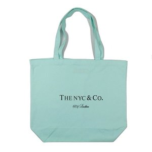 "【68&BROTHERS】PRINT TOTE BAG ""THE NYC & Co."" L SIZE"