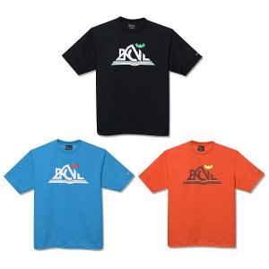 【Back Channel】OUTDOOR LOGO T / LAST TURQUOISE XL