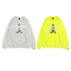 "【APPLEBUM】""WORM BOY (Home)"" CREW SWEAT<img class='new_mark_img2' src='//img.shop-pro.jp/img/new/icons5.gif' style='border:none;display:inline;margin:0px;padding:0px;width:auto;' />"