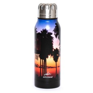 "【APPLEBUM】THERMO MUG ""SUNSET PLAYGROUND"" UMBRELLA BOTTLE<img class='new_mark_img2' src='//img.shop-pro.jp/img/new/icons5.gif' style='border:none;display:inline;margin:0px;padding:0px;width:auto;' />"