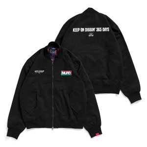 "【APPLEBUM】""OBI TEXTILE"" MA-1 JACKET"