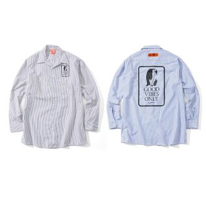 【FLATLUX】UNION LS-WORKSHIRT