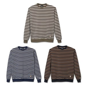 【Back Channel】BORDER CREW SWEAT
