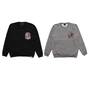 【MURAL】COMICS POCKET SWEAT