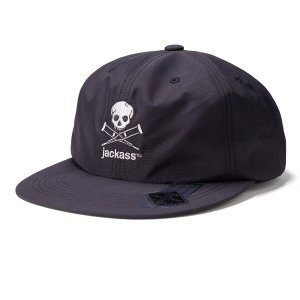 "【DL HEADWEAR】jackass x DL ""JA SKULL 6PANEL CAP"""