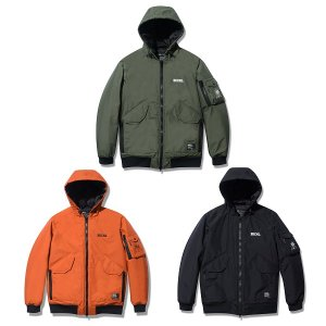【Back Channel】NYLON 3LAYER HOODED JACKET