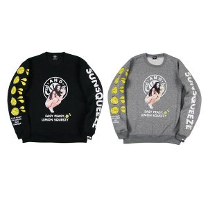 【ANDSUNS】SUNS QUEEZE CREWNECK