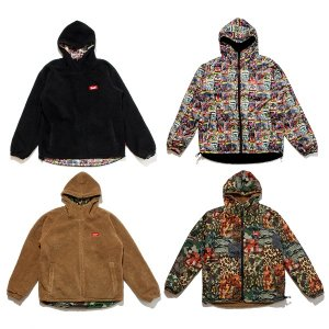 【MURAL】PATTERN RV JACKET / LAST COMICS×BLACK M