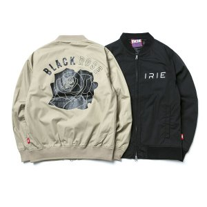 【IRIE by irielife】BLACK ROSE GIRL JACKET -IRIE for GIRL-