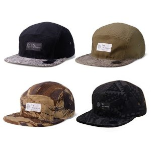 【DL HEADWEAR】OMEGA 5PANEL CAMP CAP