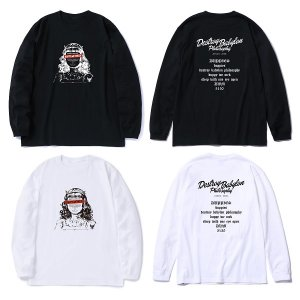 "【DUPPIES】L/S TEE SHIRTS ""SISTER DEL""<img class='new_mark_img2' src='//img.shop-pro.jp/img/new/icons5.gif' style='border:none;display:inline;margin:0px;padding:0px;width:auto;' />"