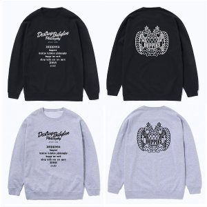 "【DUPPIES】CREWNECK SWEAT ""ATTACKERS"""