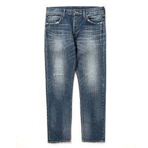 "【APPLEBUM】""KATE"" SLIM STRETCH DENIM PANTS (DAMAGE)"
