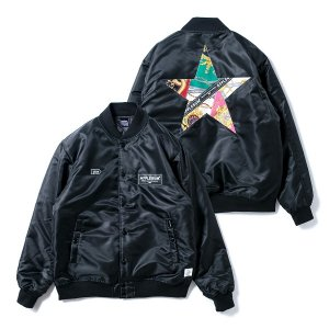 【APPLEBUM】SCARF STAR STADIUM JACKET<img class='new_mark_img2' src='//img.shop-pro.jp/img/new/icons5.gif' style='border:none;display:inline;margin:0px;padding:0px;width:auto;' />