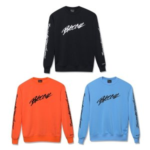 【Back Channel】SLEEVE PRINT CREW SWEAT