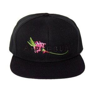【APPLEBUM】FLOWER LOGO SNAPBACK CAP