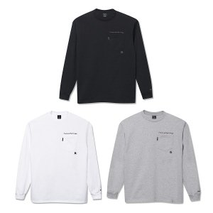【Back Channel】POCKET L/S T