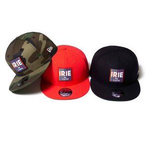 【IRIE by irielife】x NEW ERA IRIE BOX LOGO CAP<img class='new_mark_img2' src='//img.shop-pro.jp/img/new/icons5.gif' style='border:none;display:inline;margin:0px;padding:0px;width:auto;' />