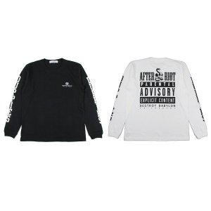 "【DUPPIES】""AFTER RIOT"" L/S TEE SHIRTS"