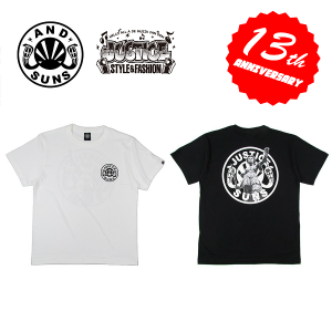 """【ANDSUNS】×JUSTICE """"LADY JUSTICE SUNS"""" TEE"""