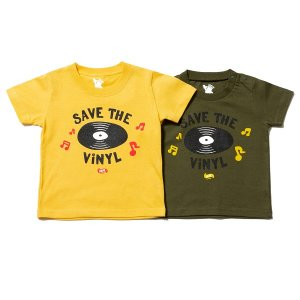 【IRIE by irielife】SAVE THE VINYL KIDS TEE / KIDS