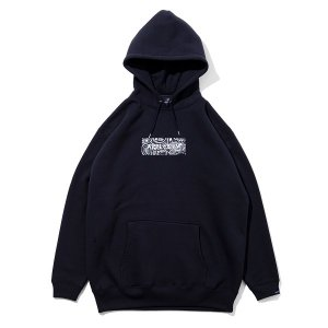 【APPLEBUM】BANDANNA BOX LOGO SWEAT PARKA