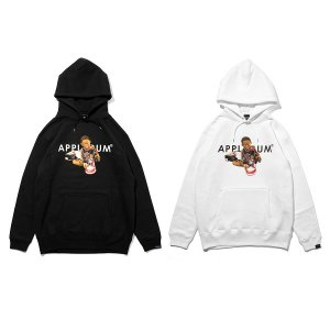 "【APPLEBUM】AJ ""CHICAGO"" BOY SWEAT PARKA"