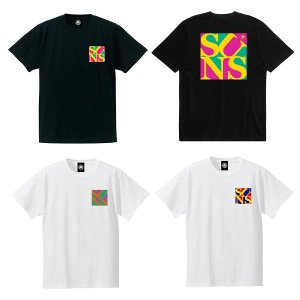 【ANDSUNS】POP SUNS TEE<img class='new_mark_img2' src='//img.shop-pro.jp/img/new/icons56.gif' style='border:none;display:inline;margin:0px;padding:0px;width:auto;' />