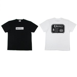 "【DUPPIES】""ONE PERCENT KINGS"" SHORT SLEEVE TEE SHIRTS<img class='new_mark_img2' src='//img.shop-pro.jp/img/new/icons5.gif' style='border:none;display:inline;margin:0px;padding:0px;width:auto;' />"