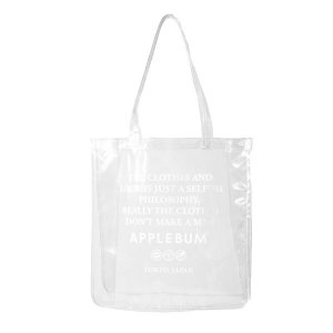 【APPLEBUM】VALUE CLEAR TOTEBAG<img class='new_mark_img2' src='//img.shop-pro.jp/img/new/icons5.gif' style='border:none;display:inline;margin:0px;padding:0px;width:auto;' />