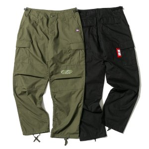 【IRIE by irielife】BIG TAG CARGO PANTS / LAST OLIVE M