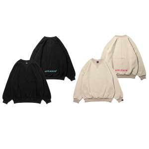 【APPLEBUM】INSIDE OUT CREW SWEAT<img class='new_mark_img2' src='https://img.shop-pro.jp/img/new/icons5.gif' style='border:none;display:inline;margin:0px;padding:0px;width:auto;' />