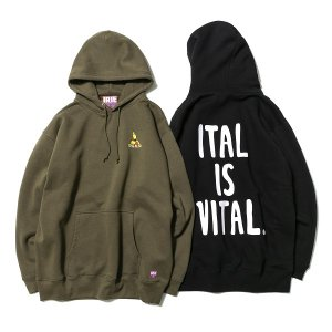 【IRIE by irielife】KING ALPHA HOODIE<img class='new_mark_img2' src='https://img.shop-pro.jp/img/new/icons5.gif' style='border:none;display:inline;margin:0px;padding:0px;width:auto;' />